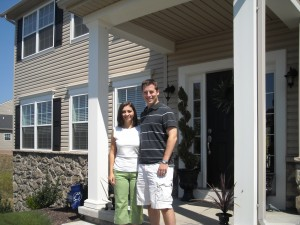 Alex & Anna, new home owners in Pittsburgh, PA