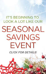 Seasonal Savings Event