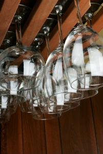 Under Cabinet Wine Rack