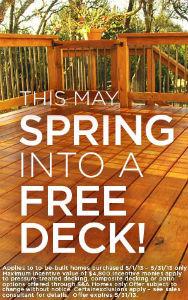 Free deck promo