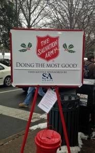 support the Salvation Army in downtown State College