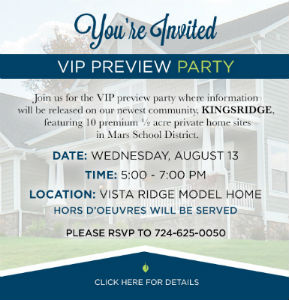 Kingsridge Preview Party