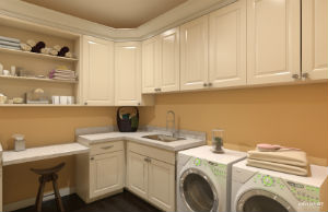Franklin laundry room