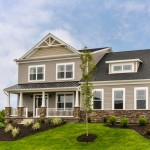 Model home at Kingsridge