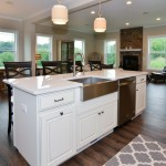 Kitchen Island in The Montgomery