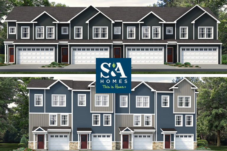 New Townhomes Coming Soon to Gray's Pointe