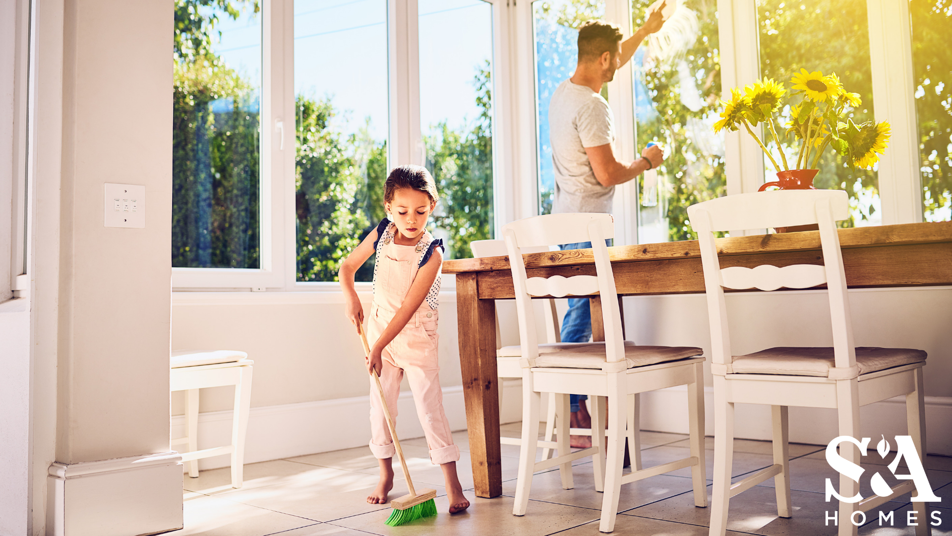 Spring Cleaning Tips from S&A Homes