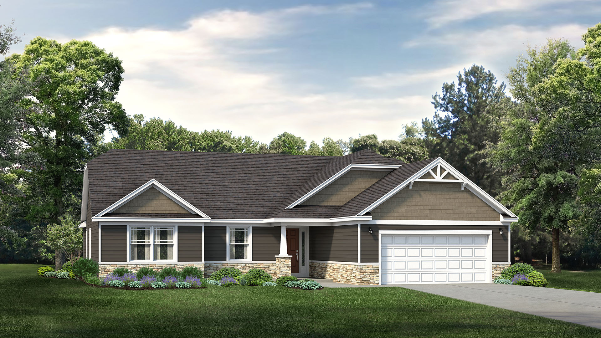 S&A Homes Introduces New Ranch Design: The Sheridan